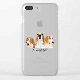 Redtick Love is Easy Clear iPhone Case
