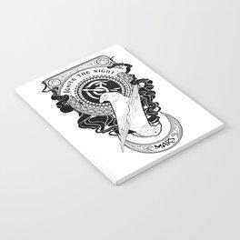 Sailor Mars art Nouveau Notebook