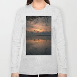 Sunset on the Gulf of Thailand Long Sleeve T-shirt