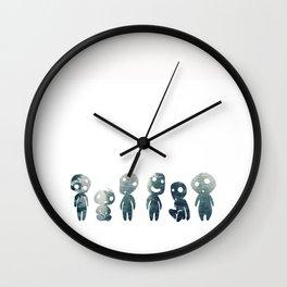 Tree Spirit Forest Wall Clock