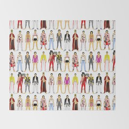 Champions Line Up Throw Blanket