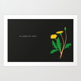 maskros Art Print
