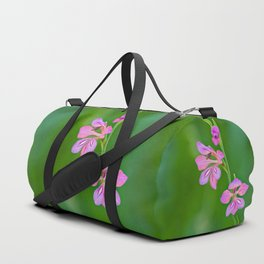 Beauty in nature, wildflower Gladiolus illyricus Duffle Bag