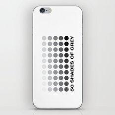 50 shades of grey iPhone & iPod Skin