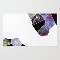 geology Area & Throw Rugs featuring Geology by michiko_design