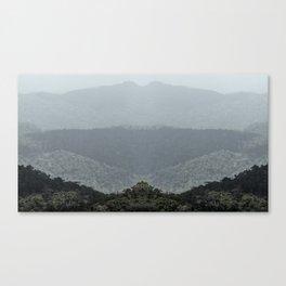Mountain Sfumato Canvas Print