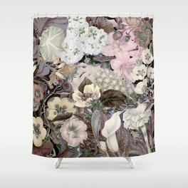 Woman flower Shower Curtain