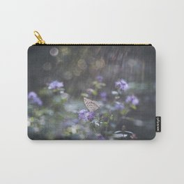 Sunrays  over the butterfly Carry-All Pouch