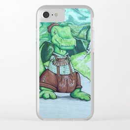 Tommyhosen Clear iPhone Case