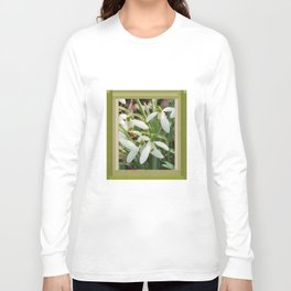 Spring Snowdrops Long Sleeve T-shirt