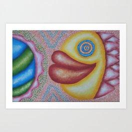 Tatienne Art Print