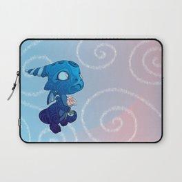 Starry Blue Baby Dragon Laptop Sleeve