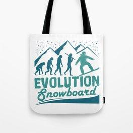 Evolution Snowboard Tote Bag