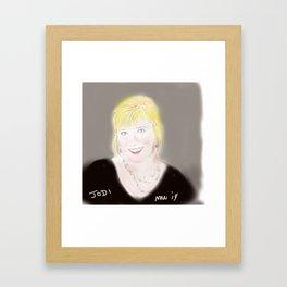 Jodi Framed Art Print
