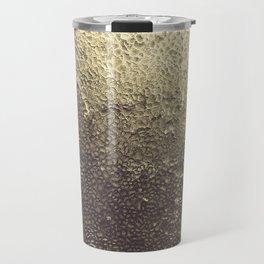 Gold Honey Travel Mug