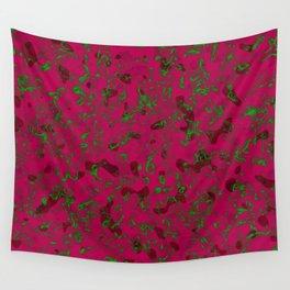Rhubarb Spores Wall Tapestry