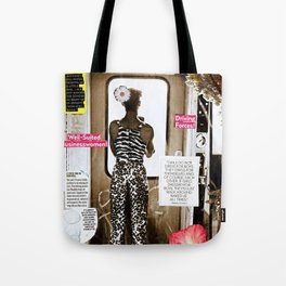 A Woman Made for Business Tote Bag
