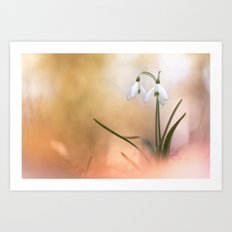 The very breath of spring Art Print
