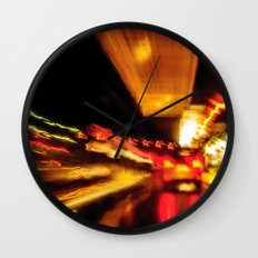 City Lights IV Wall Clock