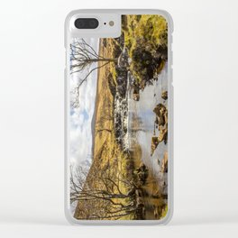 Moorland Falls Clear iPhone Case