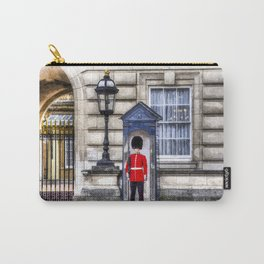 Buckingham Palace Queens Guard Art Carry-All Pouch