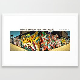 NY State of Mind Framed Art Print