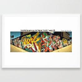 NY State of Mind Framed Art Print