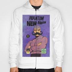phantom moustache Hoody