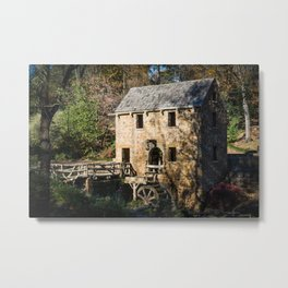 The Ole Mill Metal Print