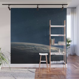 Planet earth from the space at night Wall Mural