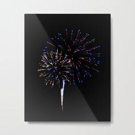 Fireworks 12 Metal Print