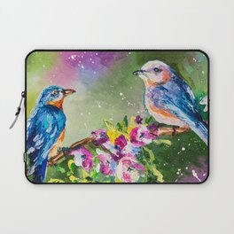 SPRING BIRDS Laptop Sleeve
