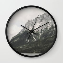 Such great Heights - Landscape Photography Wall Clock