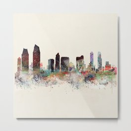 san diego california skyline Metal Print