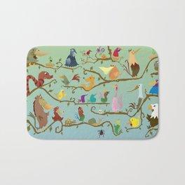 Just for the Birds. Bath Mat