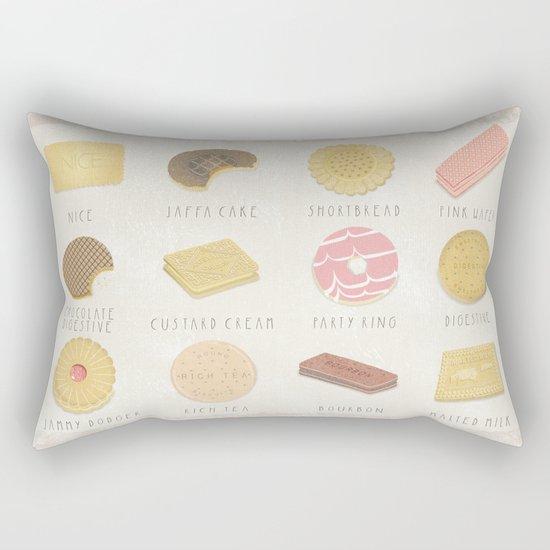BISCUITS  Rectangular Pillow