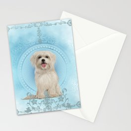 Cute little havanese puppy Stationery Cards