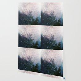 MM 160 . Cloudy Skies x Greens Wallpaper
