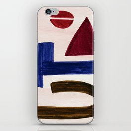 Abstract Geometry iPhone Skin