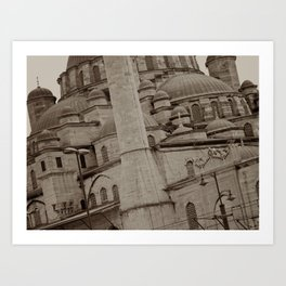 New Mosque (Istanbul, TURKEY) Art Print