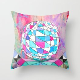 In Space. Throw Pillow