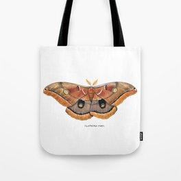 Polyphemus Moth (Antheraea polyphemus) II Tote Bag