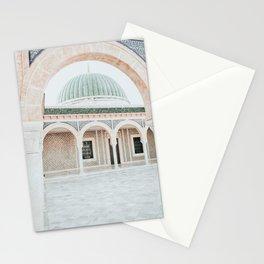 Habib Bourguiba Mausoleum Photo | Tunisia Architecture Photography | Monastir Mausoleum Stationery Cards