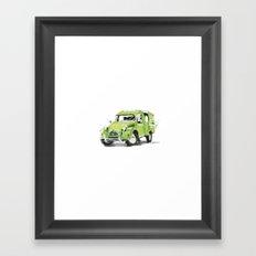 2cv Van Framed Art Print