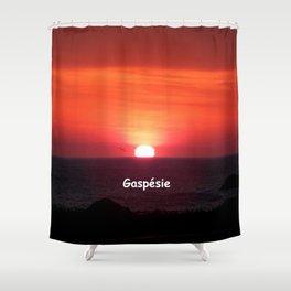 Sunrise in Gaspésie Shower Curtain