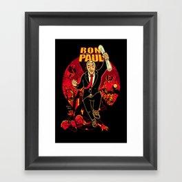 Ron Paul: The Road to REVOLution Framed Art Print