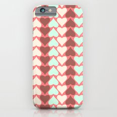 Creamy Hearts  iPhone 6s Slim Case