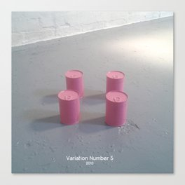 Variation Number 5 (photo) Canvas Print