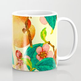Summer fruit pattern #society6 Coffee Mug