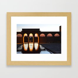Sunrise in Rajasthan Framed Art Print